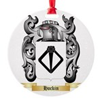 Hockin Round Ornament