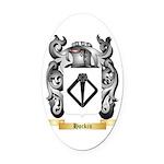 Hockin Oval Car Magnet