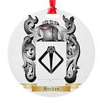 Hocken Round Ornament