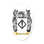 Hocken Oval Car Magnet