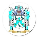 Hoby Round Car Magnet