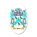 Hoby 35x21 Oval Wall Decal