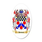 Hobson Oval Car Magnet