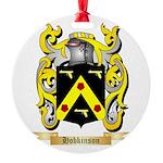 Hobkinson Round Ornament