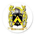Hobkins Round Car Magnet
