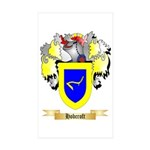 Hobcroft Sticker (Rectangle 50 pk)