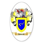 Hobcroft Sticker (Oval)