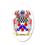 Hobbs 35x21 Oval Wall Decal