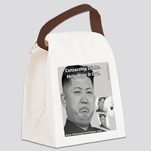 Kim Jong Un Collector's Item Toil Canvas Lunch Bag