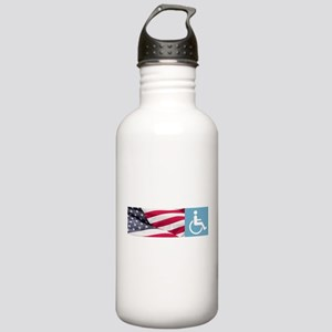 Disabld Veteran Water Bottle