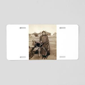 Plenty Horses - John Grabill - 1891 Aluminum Licen