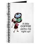 Coffee Perks Me Up Journal