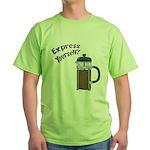 Express Yourself Green T-Shirt
