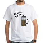 Express Yourself White T-Shirt