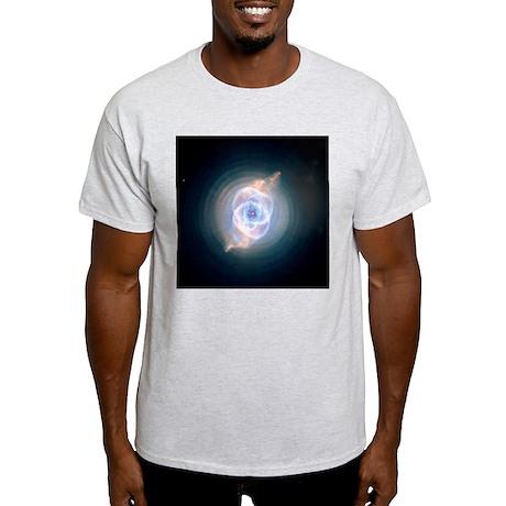 NGC 6543 astronomy gift Ash Grey T-Shirt