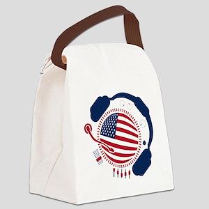 Funny_Record(OG) Canvas Lunch Bag