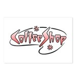 Retro Coffee Shop Postcards (Package of 8)