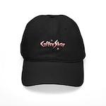 Retro Coffee Shop Black Cap