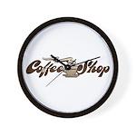 Vintage Coffee Shop Wall Clock
