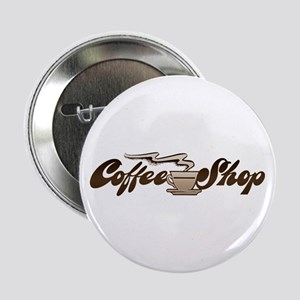 Vintage Coffee Shop Button