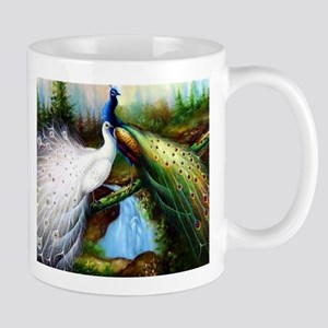 Two Peacocks Mug