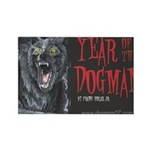 Year of the Dogman Rectangle Magnet (100 pack)