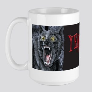 Year of the Dogman Large Mug