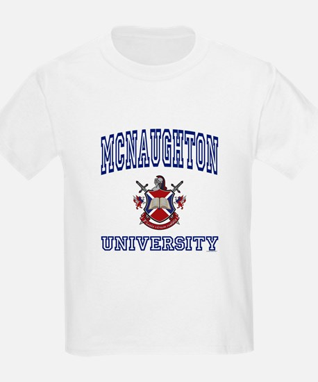 MCNAUGHTON University T-Shirt
