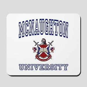 MCNAUGHTON University Mousepad