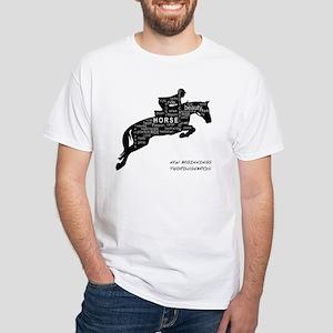 NBT Jumping Horse White T-Shirt
