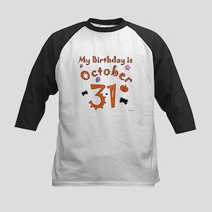 October 31 Halloween birthday for black copy Baseb