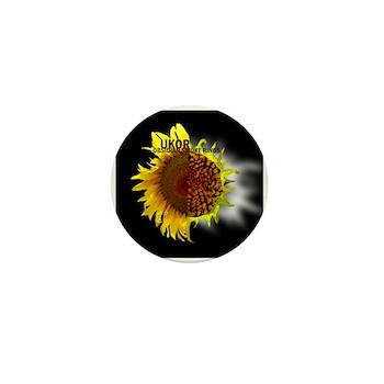 Mini Button (10 pack) OSR Sunflower