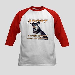 Adopt A Best Friend Kids Baseball Jersey