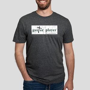 Guitar Player Cross 1 Ash Grey T-Shirt