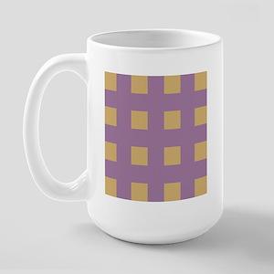 Warm Tan 3 Large Mug