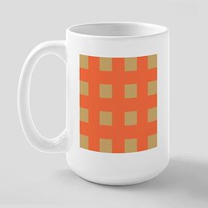 Warm Tan 4 Large Mug