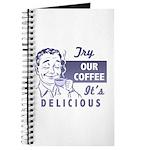 Coffee Shop Ad Journal