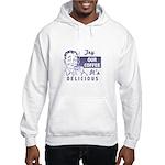 Coffee Shop Ad Hooded Sweatshirt