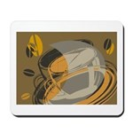Abstract Coffee Shop Mousepad