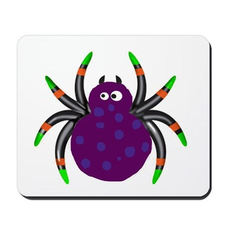 Goofy Spider Mousepad