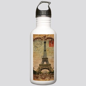 paris eiffel tower Stainless Water Bottle 1.0L