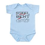 Steel Bent lightning bolt Body Suit