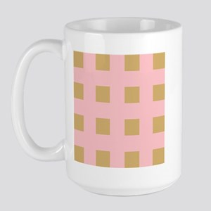 Warm Tan 5 Large Mug