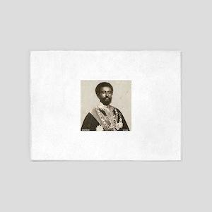 Vintage Haile Selassie 5'x7'Area Rug