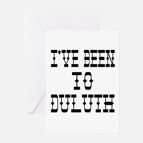 I've Been to Duluth Greeting Cards (Pk of 10)