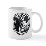 Steel Bent Helmet Mugs