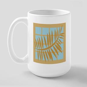 Warm Tan 6 Large Mug