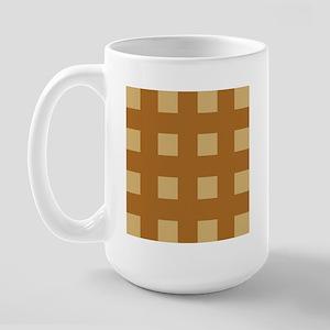 Warm Tan 7 Large Mug
