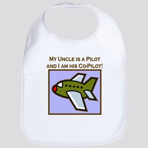 Uncle's Co-Pilot Airplane Bib