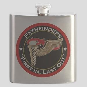 Pathfinders motto Flask